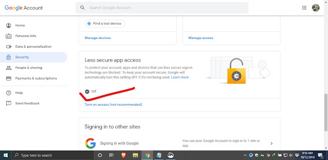 How to setup outlook for Gmail