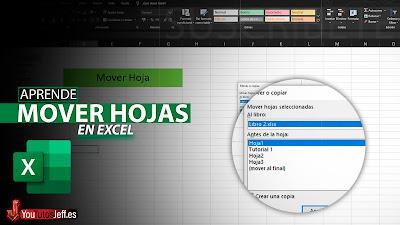 Como Copiar o Mover Hoja de Excel a Otro Libro Excel