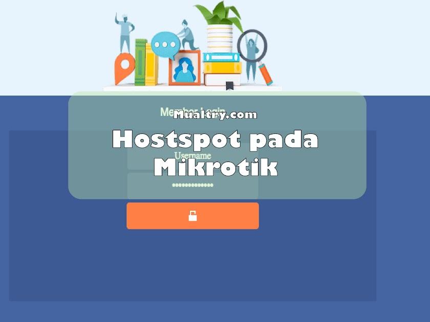 Mengganti Template Hotspot Mikrotik Premium Free