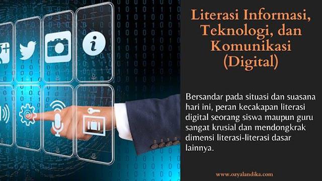 Literasi Informasi, Teknologi, dan Komunikasi (Digital)-ozyalandika