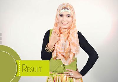 Tutorial Memakai Hijab Paris Motif yang Praktis
