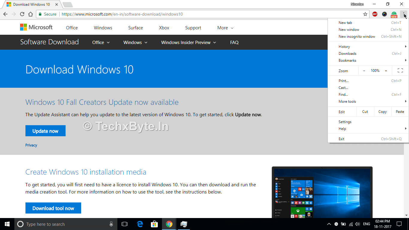 windows 10 iso direct download 2017