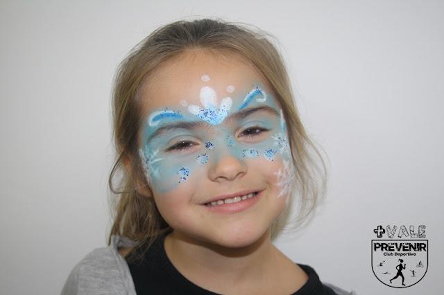 maquillaje elsa frozen niño