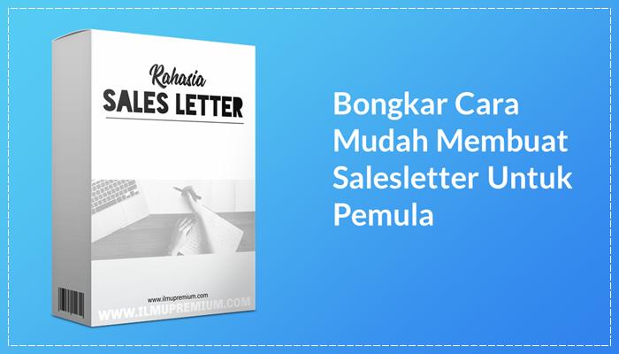 Rahasia Sales Letter