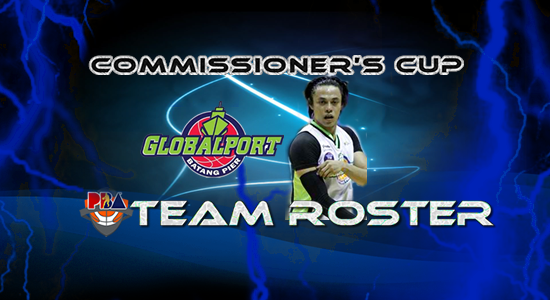 List of GlobalPort Batang Pier (Lineup) 2017 PBA Commissioner's Cup
