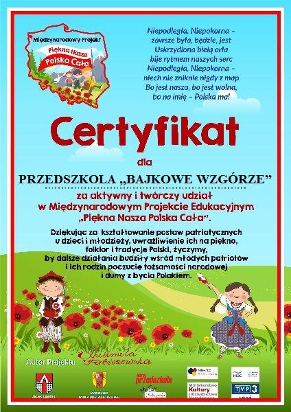 ad3d28ac93b749 Przedszkole w Czernicy: Projekty