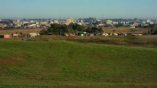 Cidade de Vacaria Vista do Morro Agudo