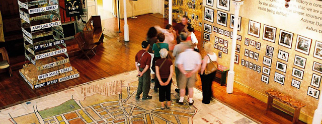 Inside the Museum District Six, Cape Town
