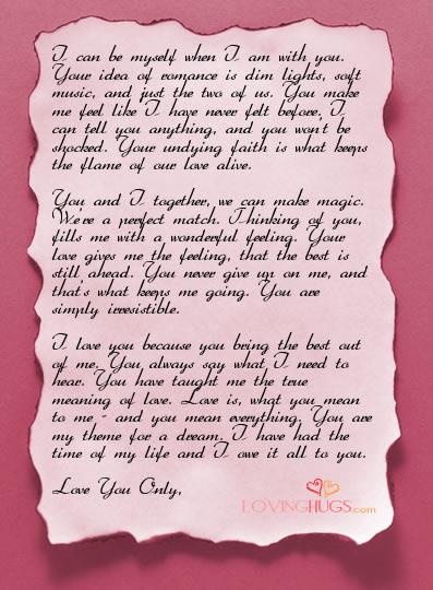 Surat Cinta Untuk Pacar Bahasa Indonesia Suratmenyuratnet