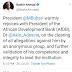 Buhari Celebrates Adesina