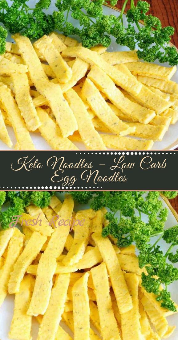 Keto Noodles – Low Carb Egg Noodles #dinnerrecipe #food #amazingrecipe #easyrecipe