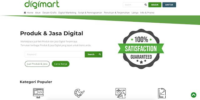 Review Digimart Situs Freelancer Baru Di Indonesia