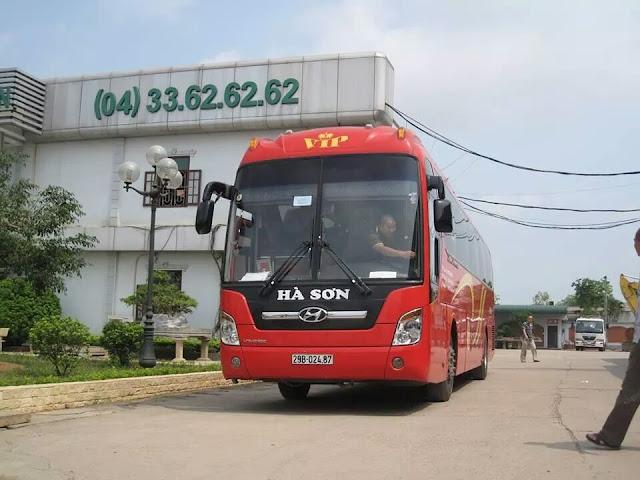 Nhà xe khách giường nằm Hà Sơn