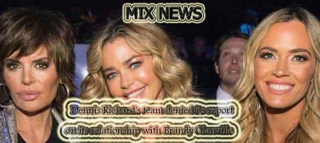 Dennis Richard's,Brandy Glanville,report,relationship