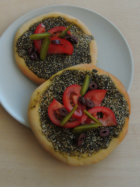 Manoosheh, Zaatar Pizza