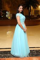 Pujita Ponnada in transparent sky blue dress at Darshakudu pre release ~  Exclusive Celebrities Galleries 009.JPG
