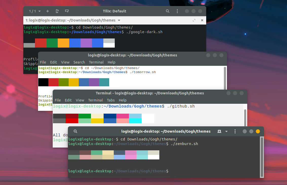 179 Color Schemes For Your Gtk-Based Linux Terminal (Gnome