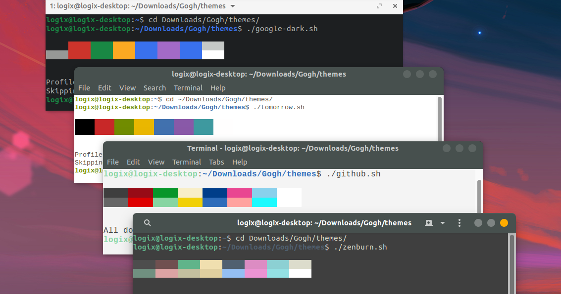 179 Color Schemes For Your Gtk Based Linux Terminal Gnome