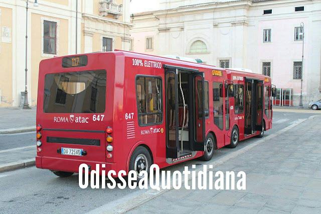 Bus elettrici - Prossima l'attivazione del nuovo 121