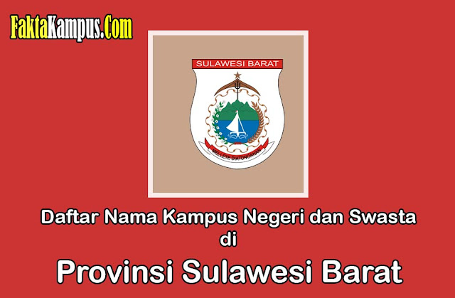 Daftar Kampus di Sulawesi Barat