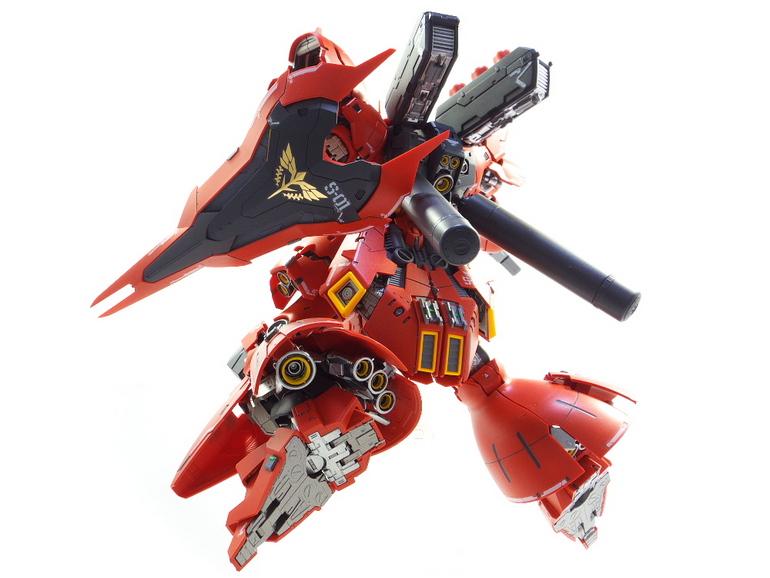 Custom Build: RG 1/144 MSN-04 Sazabi - Gundam Kits Collection News and Reviews