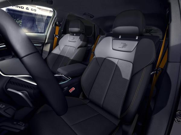Audi e-tron 2022 Black Edition - interior - bancos