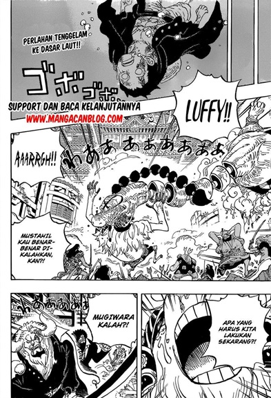 Manga One Piece Chapter 1015 Bahasa Indonesia