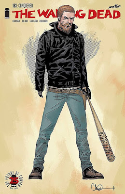 The Walking Dead Issue 163 Variant Cover Artwork by Charlie Adlard