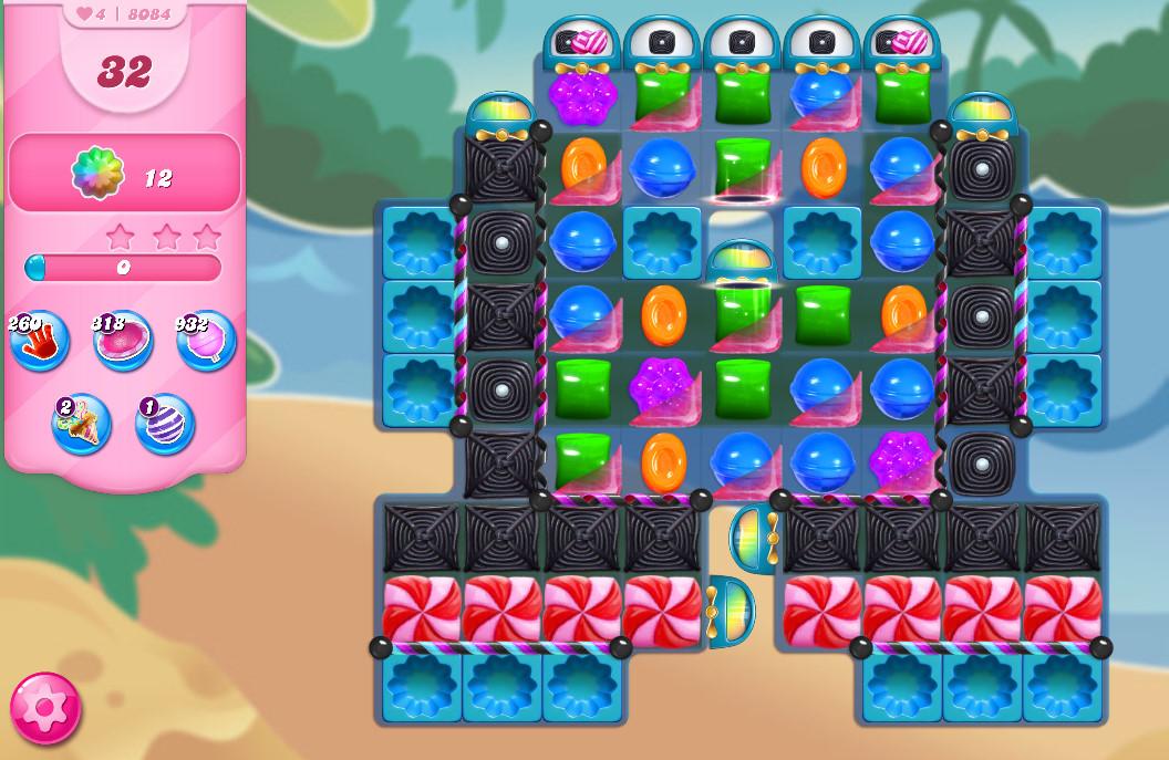 Candy Crush Saga level 8084