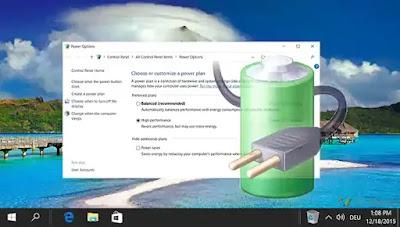 Cara Mengembalikan Power Plans yang Hilang di Windows 10