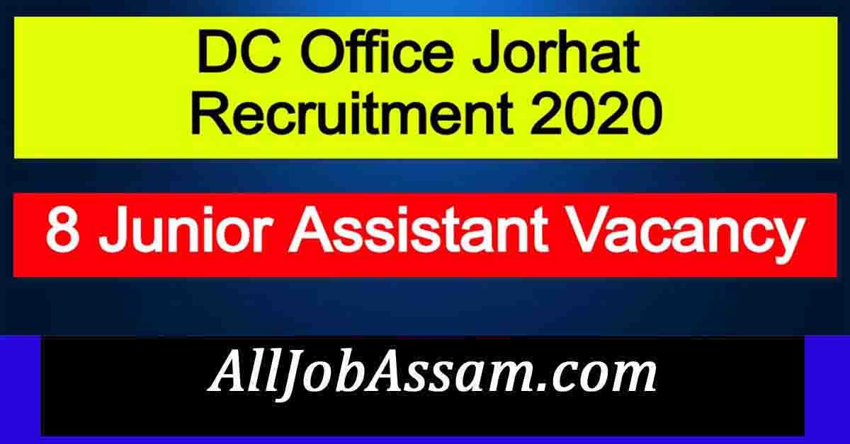 DC Jorhat Admit Card 2021