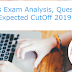 FCI Mains Exam Analysis, Questions Asked & Expected CutOff 2019: 27th July