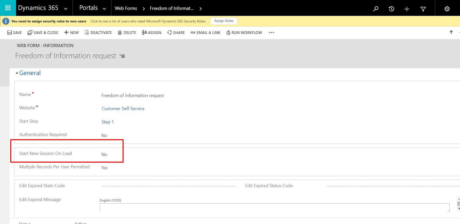 Shaikhblog - Microsoft D365: How To Make A Session Between