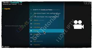 """Como Instalar Add-on """"Exabyte TV"""" no Kodi - TV Online de Vários Países e Filmes Online"""