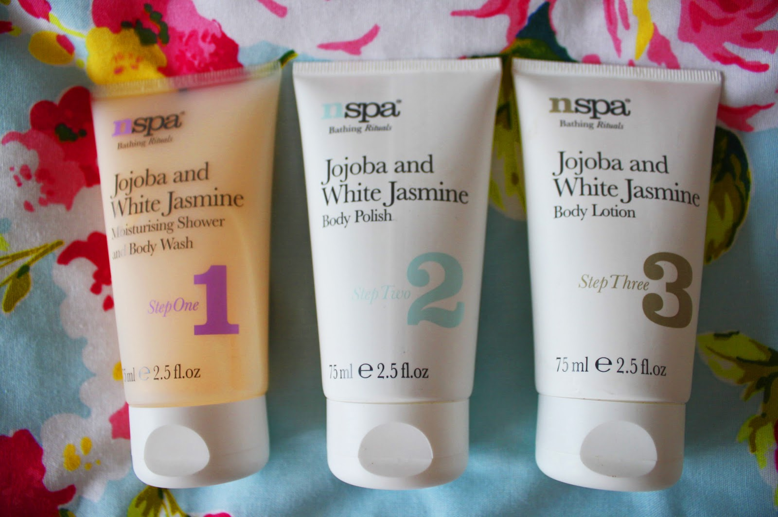 Shower products from the NSPA collection