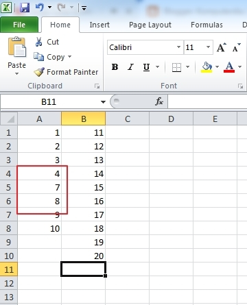 Memahami Cara Menyisipkan Sel dan Range Excel 2013