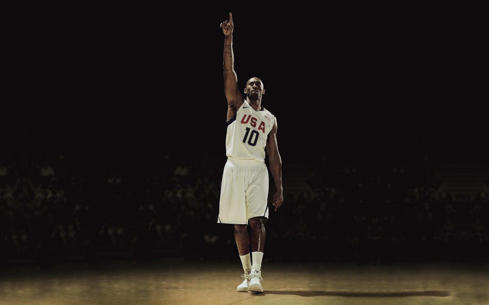 best service 48a7c 22d3b USA National Basketball Team Kobe Bryant from Lakers HD Desktop Wallpaper