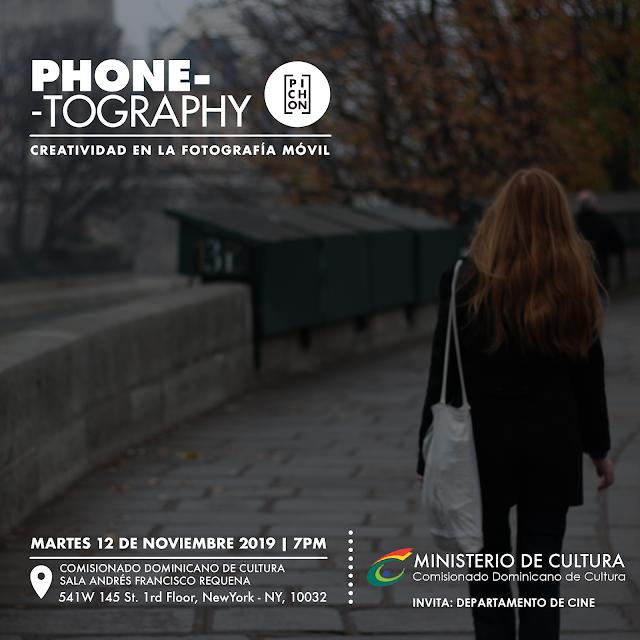 Impartirán taller de fotografía gratis en el Comisionado Dominicano de Cultura