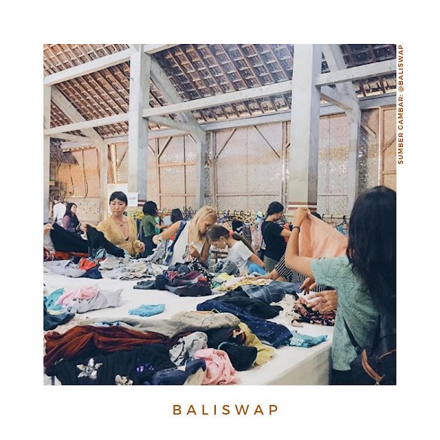#BaliSwap : Inisiatif Tukar Pakaian Untuk Hidup Lebih Berkesadaran
