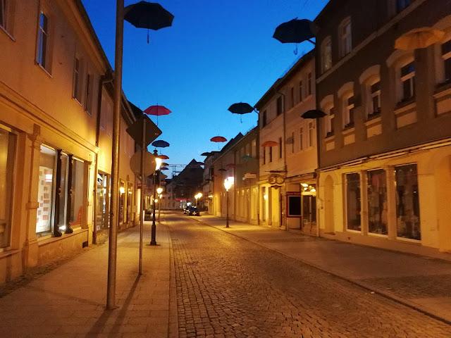 Innenstadt von Eisenberg (Thüringen)