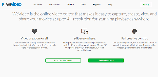 web based online video editor