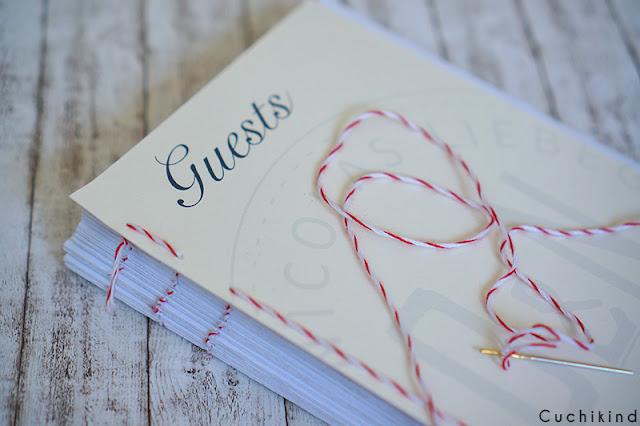 Hochzeitsgeschenk Gästebuch