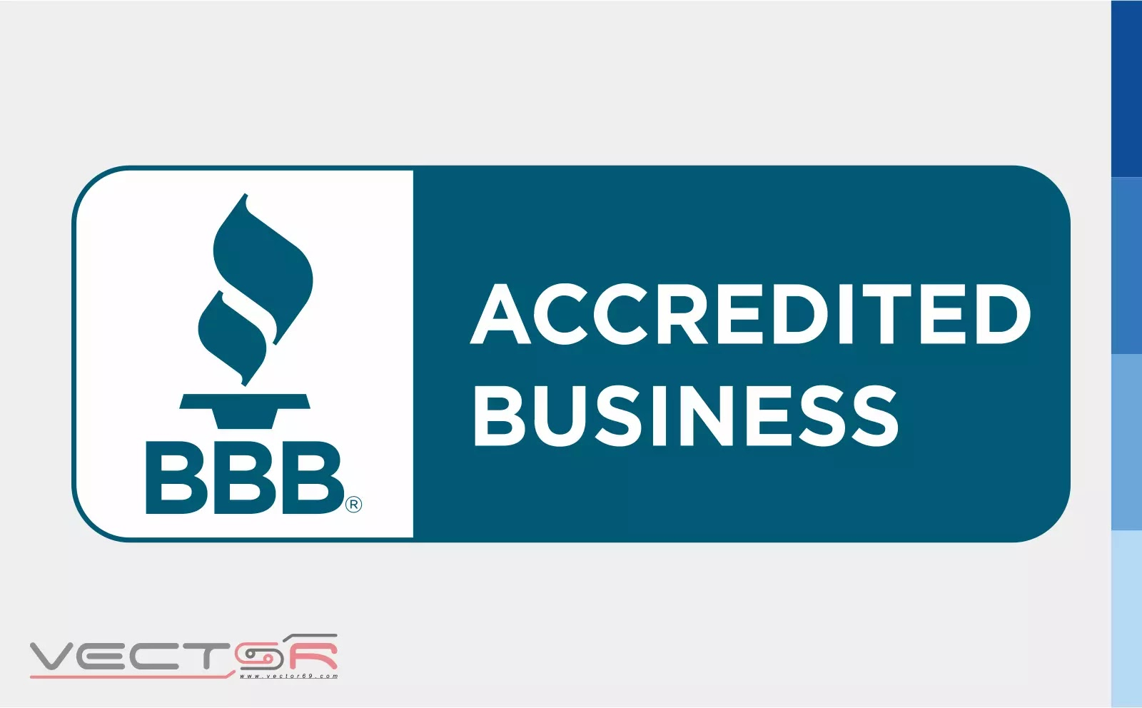 BBB Accredited Business Horizontal Seal - Download Vector File Encapsulated PostScript (.EPS)
