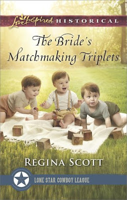 Heidi Reads... The Bride's Matchmaking Triplets by Regina Scott