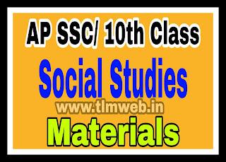 AP SSC/ 10th Class Social Studies Materials