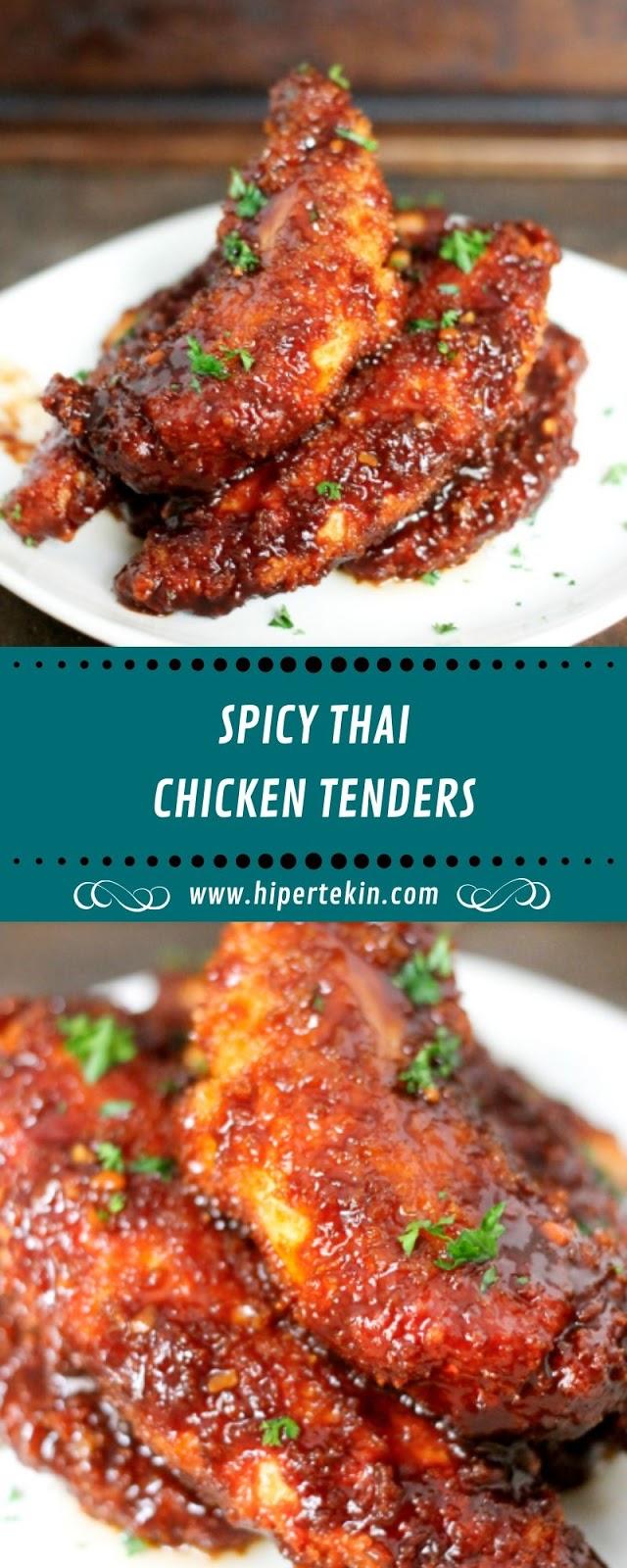 SPICY THAI CHICKEN TENDERS