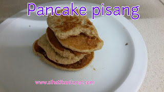 pancake pisang dengan oat