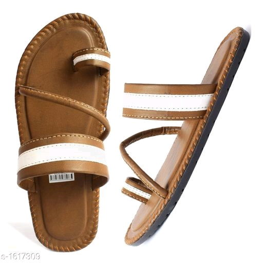 Men's Latest  Synthetic Leather Casual Sandal