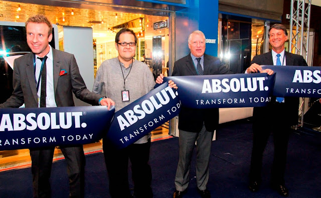 absolut, World First ABSOLUT Brand Store, KLIA, absolut hibiskus, Henrik Ohlstenius, Fawzy Ahmad, Pierre Coppere and Con Constandis, Official Launch