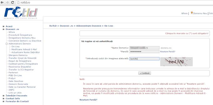 Cum sa muti un blog blogspot pe domeniu .ro